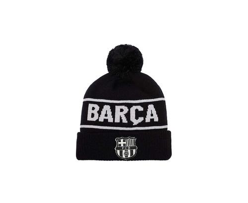 FC Barcelona   Beanie   Black / Grey