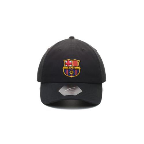 FC Barcelona   Adjustable Dad Hat   Black