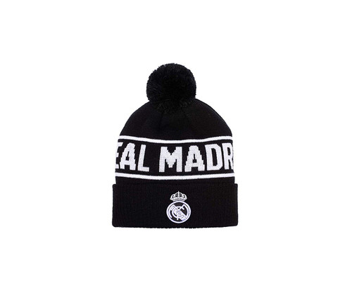Real Madrid | Beanie | Black / White