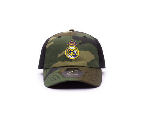 Real Madrid | Classic Trucker Hat | Camo