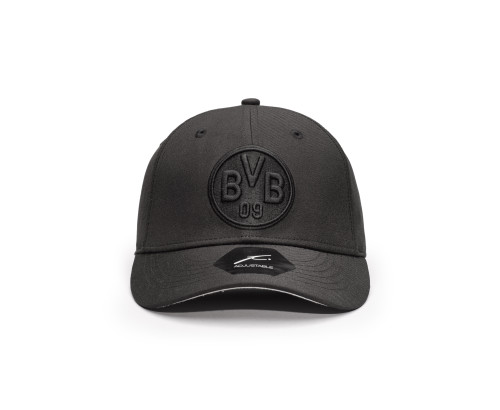 Fi Collection Borussia Dortmund 'Dusk' Adjustable Hat / Cap Black
