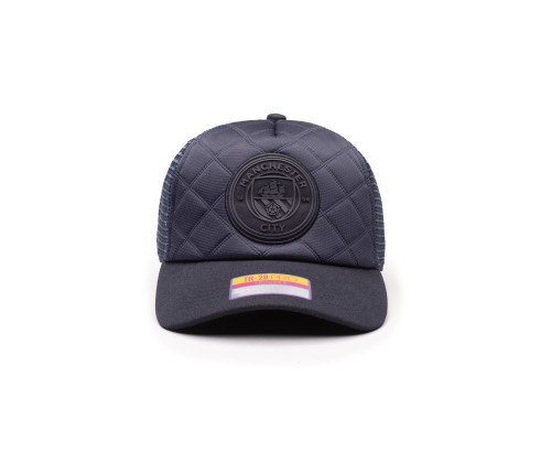 Manchester City Onyx Trucker Hat - Navy by Fan Ink / Fi Collection