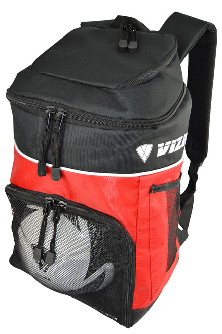 Vizari Titan Soccer Sport Backpack - Red