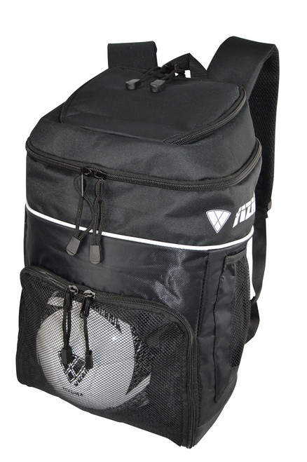 Vizari Titan Soccer Sport Backpack - Black