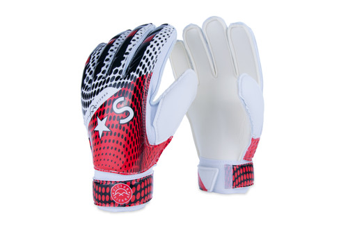 Victor Sierra Recoil Goalkeeper Glove with Finger Protection - Red