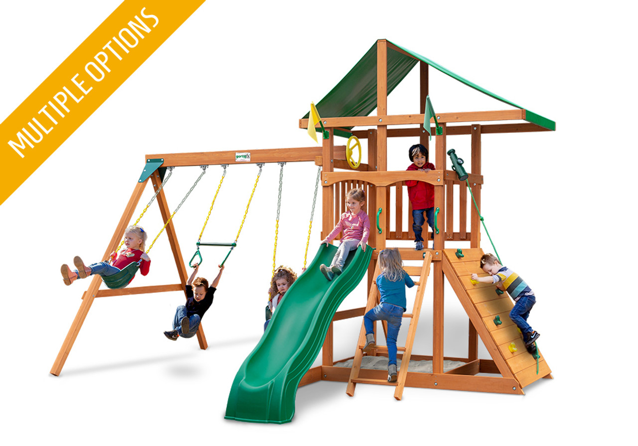 Outing Wooden Swing Set | Kid's Wooden Playsets