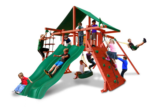 Studio front view of Sun Valley Extreme Play Set from Playnation
