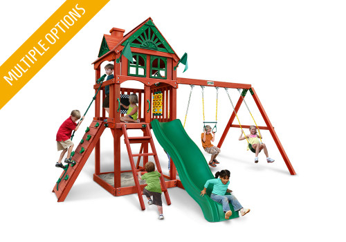 Studio front view of Five Star II Play Set from Playnation