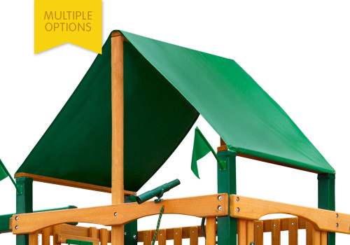 Replacement Canopy for Horizon / Horizon Clubhouse / Laguna (aka Horizon w/ Tube Slide) / Laguna Clubhouse (aka Horizon Clubhouse w/ Tube Slide) / Cayman (aka Horizon w/ Monkey Bars) / Acadia (aka Horizon w/ Tire Swing & Ramp) / Cimmaron (aka Horizon w/ Clatter Bridge & Tire Swing) / Grand Summit I & II / Reserve I & II