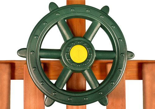 Large Toy Ship's Wheel