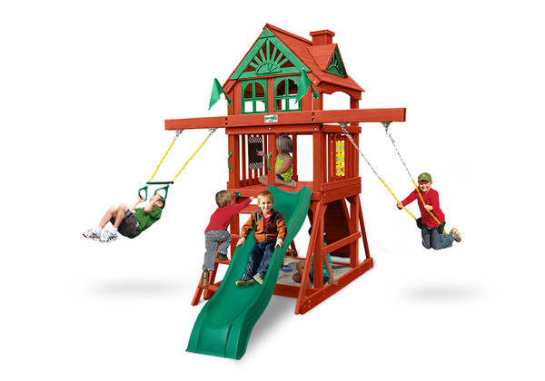 Studio view of Five Star II Space Saver Play Set from Playnation