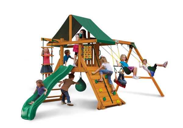 Studio front view of High Point II Play Set from Playnation