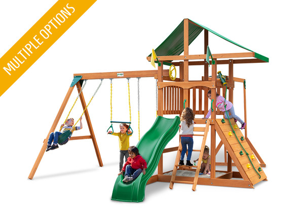 Studio view of Outing II  w/ Monkey Bars Play Set from Playnation