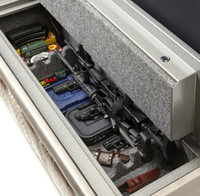 Hidden gun safe furniture.