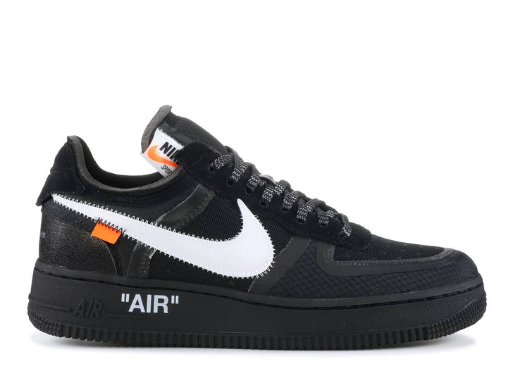 """NIKE X OFF WHITE AIR FORCE 1 LOW """"BLACK WHITE"""""""