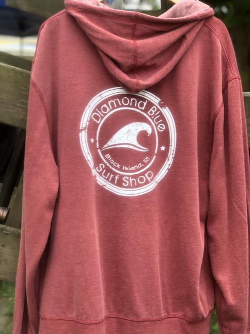 DB vintage wash pullover hoodie