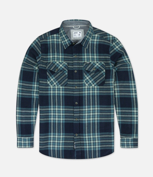 Arbor Flannel Blue