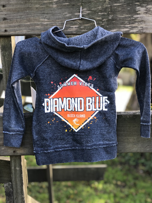 Diamond Toddler Hoody Navy