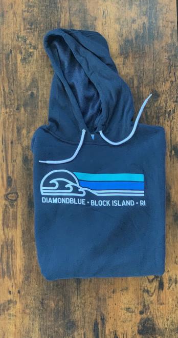 Breaker Band hoodie-navy