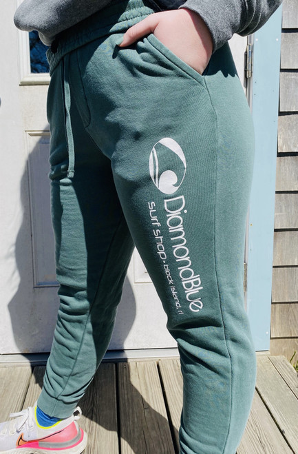 DB Pigment Dyed Sweats-green