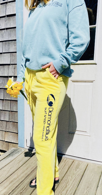 DB Pigment Dyed Sweats-yellow