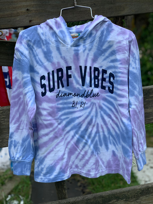 Surf Vibes Youth hoodie Blue Moon
