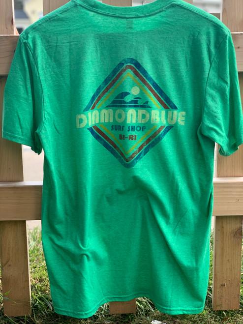 DB Diamond s/s tee-green