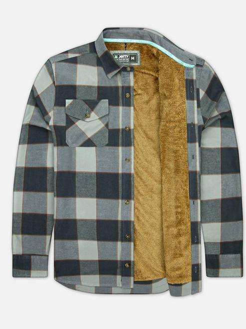 Sherpa Jacket-Grey