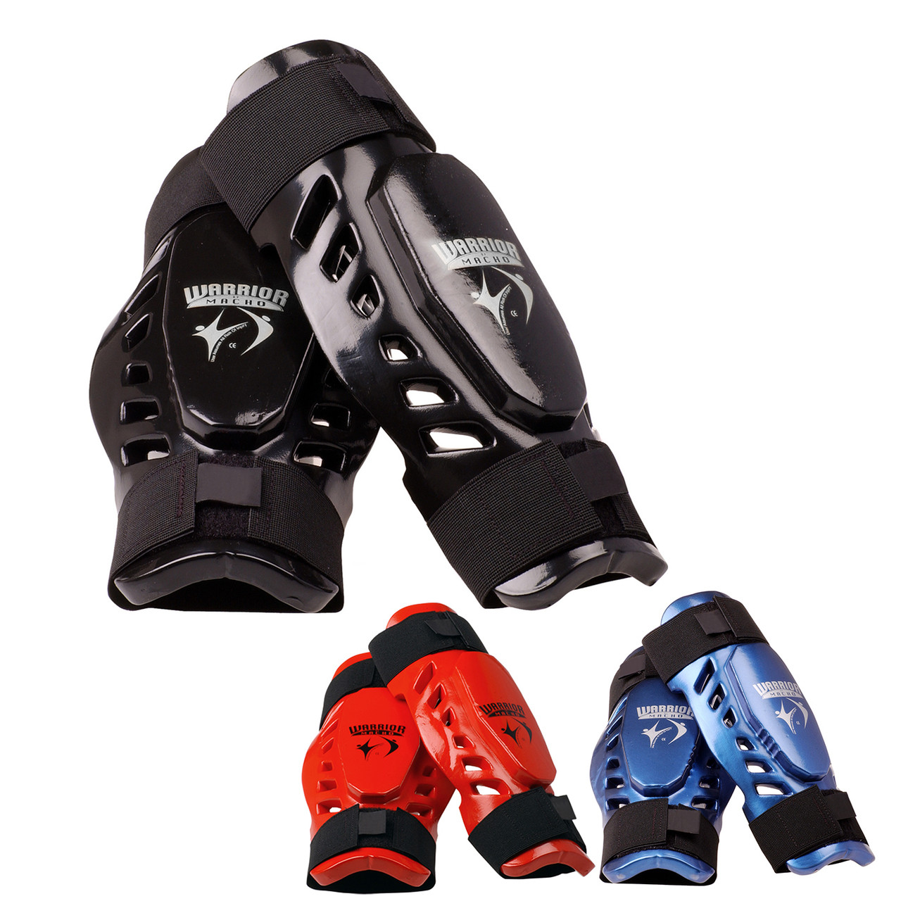 Macho Dyna BLUE 7 piece Sparring Gear Set Any Size with shin