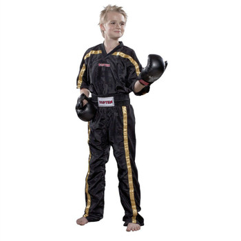 Top Ten Mesh Kickboxing Jacket Black/Gold