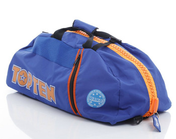 Top Ten WAKO Convertible Sports Bag/Backpack Blue/Orange