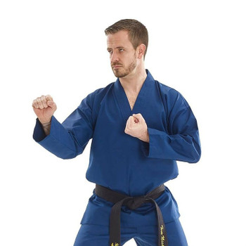 Bytomic Adult Blue V-Neck Martial Arts Uniform