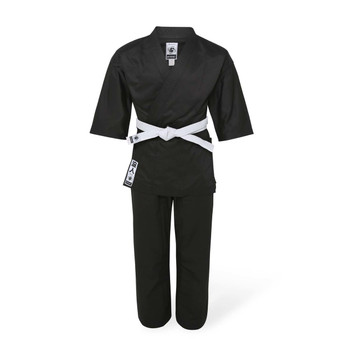 Bytomic Adult Ronin Middleweight Karate Uniform Black