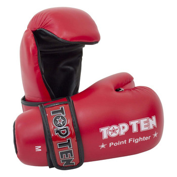 Top Ten Pointfighter Gloves Red