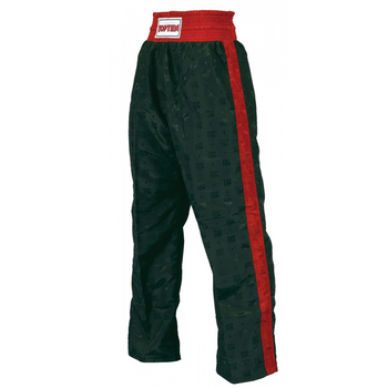 Top Ten Adult Classic Kickboxing Pants Black/Red