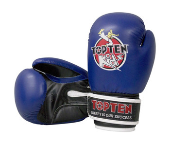 Top Ten Kids 2016 Boxing Gloves 8oz Blue