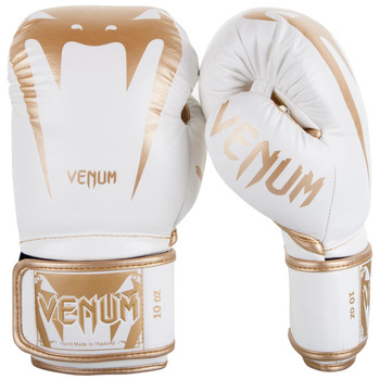 Venum Giant 3.0 Boxing Gloves White/Gold