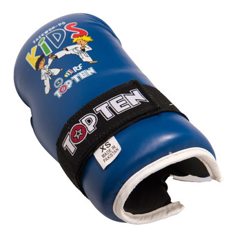 Top Ten Kids Generation ITF Pointfighter Gloves Blue