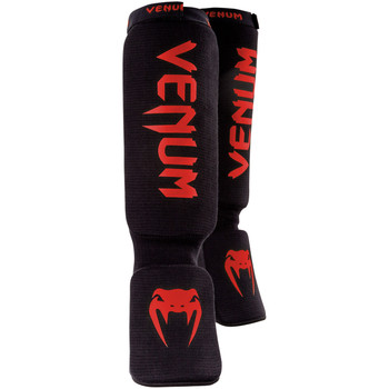 Venum Kontact Shin Instep Guards Black/Red