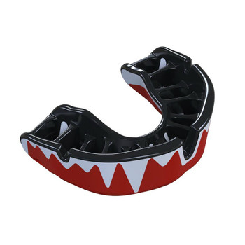 Opro Platinum Fangz Gen 4 Mouth Guard Red/Black/Silver
