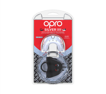 Opro Silver Twin Pack Gen护嘴黑色黑色