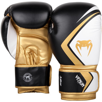 Venum Contender 2.0 Boxing Gloves Black/White/Gold