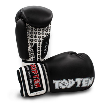 Top Ten Fight Boxing Gloves Black