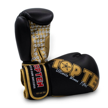 Top Ten Womens Boxing Gloves Black/Gold