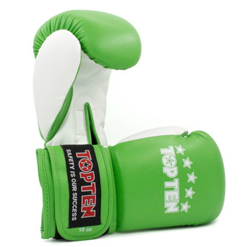 Top Ten Boxing Gloves NB II Green/White