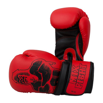 Top Ten Mixfight Boxing Gloves Red/Black