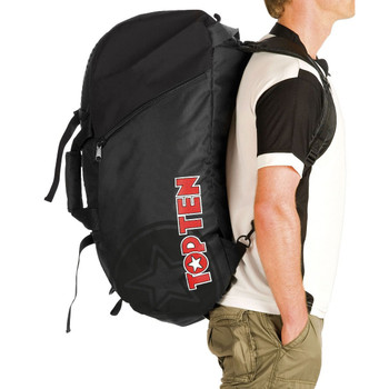 Top Ten Sportbag/Backpack Black