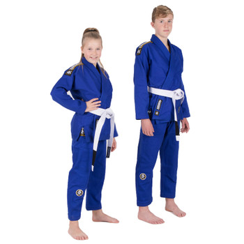 Tatami Fightwear Nova Absolute Kids BJJ Gi Blue