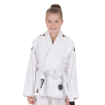 Tatami Fightwear Nova Absolute Kids BJJ Gi白色