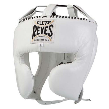 Cleto Reyes Headgear With Cheek Protectors White